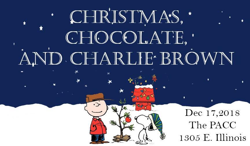 Christmas, Chocolate and Charlie Brown December 17th • Midland ...