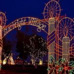 Starbright Village at McKinney Park in Odessa during the month of December
