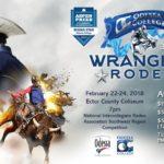 Wrangler Rodeo  2/22 – 2/24