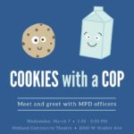 Cookies with a cop  03/07